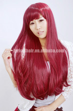 Factory Price Unique Kanekalon Synthetic Hair Wig For Sale