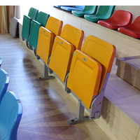 Factory Price football stadium seats,Plastic Stadium chair price,Tip Up stadium chair (OZ-3084)