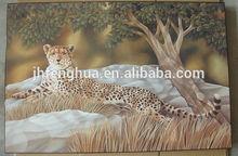 tigerabstract imagen de dibujo de la pintura de laca