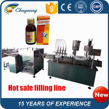 Good quality Automatic glass bottle washing equipment,medical liquid bottle filling machine,medical filling machine