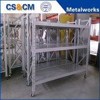 Low prices Metal light duty rack/industrial shelving system manufacturer