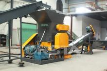 China PET Plastic bottle crushers/plastic crusher, PET crushing washing drying production line for PSF