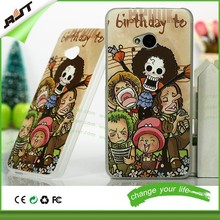 Custom design 3d embossed art PC phone case for HTC 3D cartoon phone case