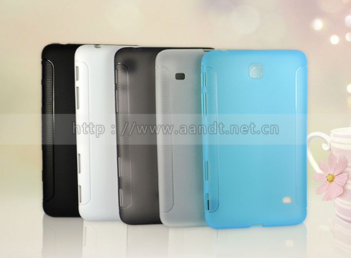 China wholesale TPU cover case for samsung tab 4 7''