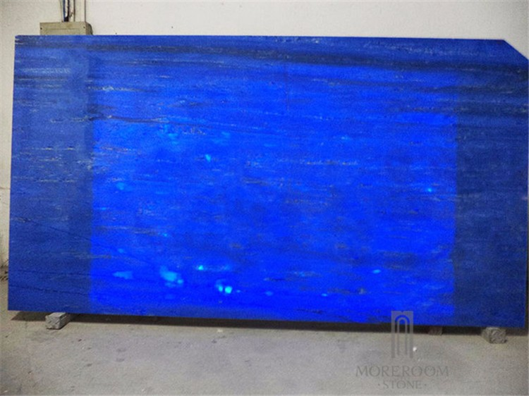 Translucent Blue Onyx Translucent Sky Onyx Slabs Tiles