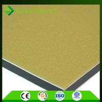 Greenbond wooden colour aluminum composite sandwich pe acp panel