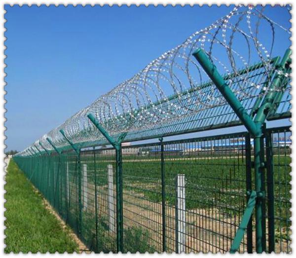 Razor Wire Mesh Fence/bto-22 Wire On Fence/razor Shape Barbed Wire ...