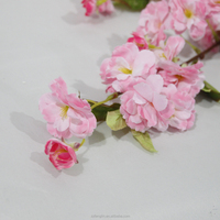 cheap wholesale 2ft silk artificial cherry blossom branch for wedding Christmas decoration