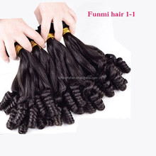 Wholesale Hair Product funmi human hair,Hot Hair Virgin Brazilian funmi hair,fumi hair Factory Price 100% aunty funmi hair