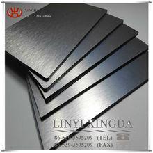Brushed aluminum composite material