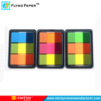 Memo Pads Style And Self-Adhesive Feature Sticky Note Set Box