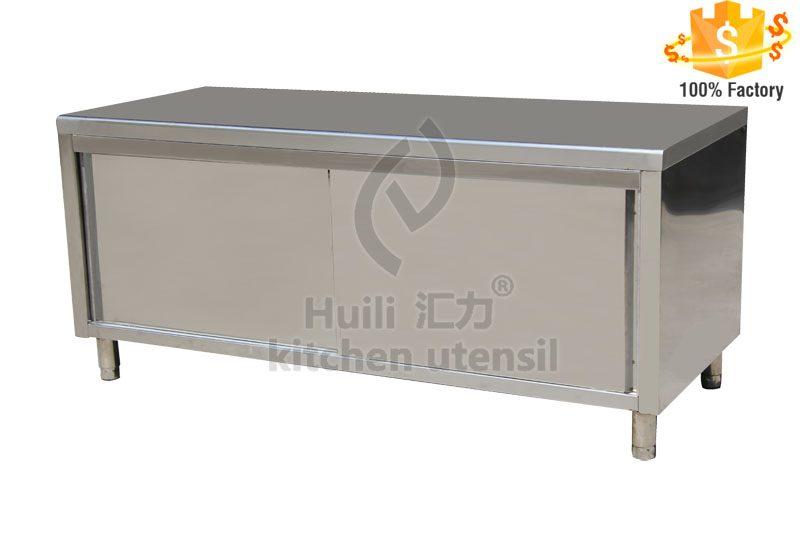 Subway sandwich vendor cheap stainless steel used kitchen for Cheap metal kitchen cabinets
