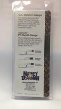 OEM manufacture high precision QC welder's Gauge measuring