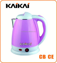 Commercial 1.8L promotional enamel whistle finishing electric kettle