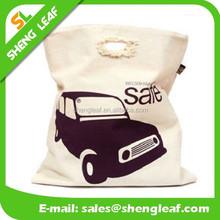 Logo Printed Eco-Friendly Cotton canvas duffel bag