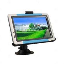 "5.0"" Portable High Definition Touch Screen Car GPS Navigator - Media - Games - SD Card"