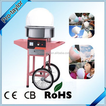 Cotton Candy Machine Maker with Carts for Commercial Use