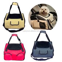 Dog car seat pet car seat cover dog cat adjustable booster car seat carrier