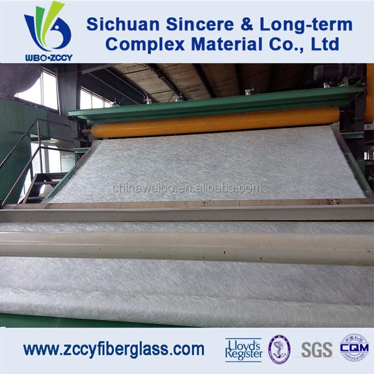 1040mm fibreglass emulsion chopped strand mat, fiberglass thickness