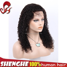 Fast delivery Peruvian wet and wavy cheap lace front wig
