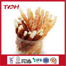 Nutritious Dog Food Dog Snack Dog Treat pet food mixed food Original Rawhide Stick Wrapped with chicken.