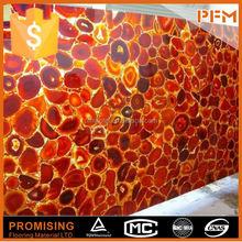 building decorative natural semi precious stone ruby color