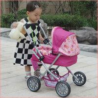 2014 brasil world cup orange color lovely baby doll stroller pram stroller