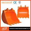 Mini excavator bucket, digger spare parts, excavator spare parts, 0.3 cubic