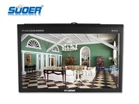 Suoer high resolution 24 inch car LCD screen monitor video player