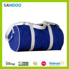 xiamen de poliéster reciclado barril bolsa de gimnasio para venta al por mayor