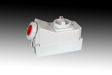 IP67 Industrial Socket with Switches and Mechanical Interlock