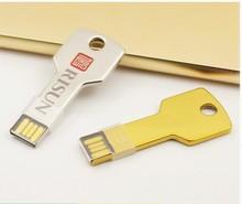 Promotional customized car key shape usb flash drive