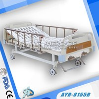AYR-8155R Manual Medical Bed with Two Cranks