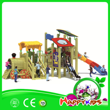 Outdoor slides for pirate ship outdoor playground equipment for sale