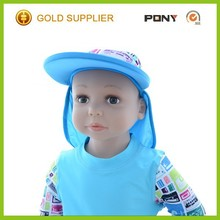 Fashion Hot Selling 50+ UPF Baby Sun Protection Knit Hat