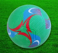 Official size and weight new arrival rubber soccer balls/rubber footballs