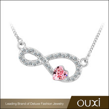 OUXI wholesale new design 18k plated gold chain necklace designs