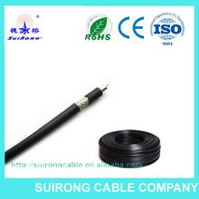 Cable coaxial rg223 5.39mm diámetro exterior