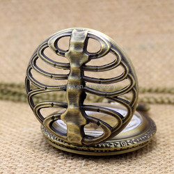 Spine Ribs Hollow Antique Pocket Watch Fashion Watches Manufacturer