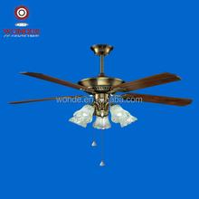 sensible ceiling fan mental head with lamp