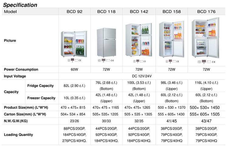 Commercial Refrigerator For Fruits And Vegetables 12 Volt