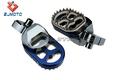 Motocicletas: piezas del pie de Peg Para Yamaha YZ85 YZ 98-14 99-14 97-13 WR450F & GAS GAS EC AZUL