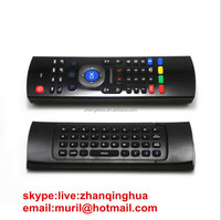 81 Key2.4G WIRELESS Air Mouse Voice Keyboard + IR Learning Two Side MX3 Remote Control Smart TV,IPTV,MINI PC,HTPC,ANDROID TV BOX