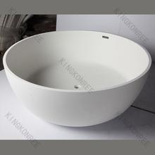 blanco glaciar de piedra de acrílico superficie sólida bañera de bienvenida personalizados