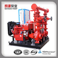 XBD 500GPM 8Bar Electric Pipeline Fire Hydrant Pump