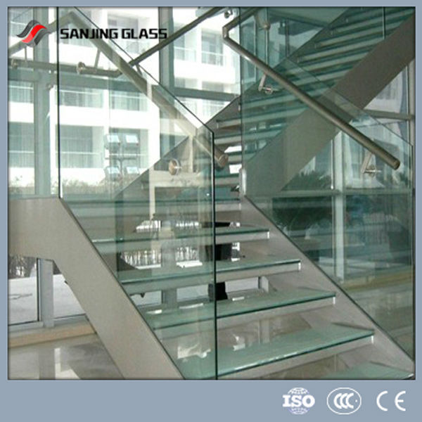laminated stair glass railing prices buy stair glass