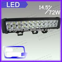 72w auto LED off road light bar for ATV,moto,SUV, 4X4 off road, truck
