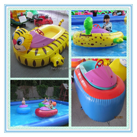 Inflatable Electric Motorized Bumper Boats,Small Electric Fishing Boats Used Bumper Boats For Pool