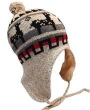 fashion knitted Winter Hat with fleece inside earflap cap T-30