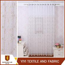 Textil para el hogar confeccionado paja de la flor cortina